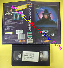 VHS film IL MISTERO DI WOLF LAKE 1989 Rod Steiger SUPER VIDEO EXTRA(F106) no dvd