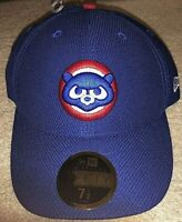 CHICAGO CUBS 59FIFTY NEW ERA FITTED BASEBALL BP HAT - SIZE 7 1/2 - CUBBIE BEAR