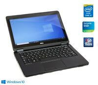 Dell Latitude E5250 i5-5300u 8GB RAM 256GB SSD 12,5 IPS 1080p FullHD Touchscreen
