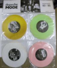 "Depeche Mode, Interviews 83-85, NEW Ltd edition 4 pack COLOURED vinyl 7"" singles"