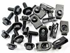 Land Rover Body Bolts & U-nut Clips- M6-1.0 x 20mm Long- 10mm Hex- 20 pcs- #150
