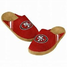 San Francisco 49ers Jersey Mesh SLIDE SLIPPERS New - FREE U.S.A. SHIPPING