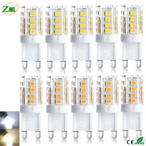 10x G9 Led Birne 5W SMD 2835 führte Energiesparlampen Warmweiß/Kaltweiß AC 220V