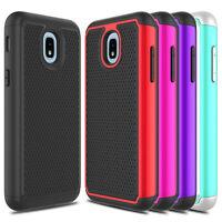 For Samsung Galaxy J3 V 2018/Achieve/Star/Orbit Shockproof Hybrid TPU Case Cover