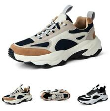 39-46 Men's Leisure Sneakers Shoes Trainer Gym Outdoor Jogging Sports Fitness D