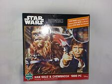 Buffalo Games Star Wars Photomosaic Han Solo and Chewbacca Jigsaw 1000 pc Puzzle