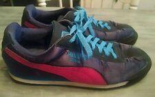 Womens Puma Roma shoes, purple, size 11