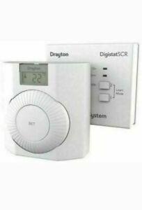 Drayton Digistat RF601+ Wireless Room Programmable Thermostat boiler new REF-8NH
