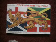 Brooke Bond Picture Cards Album Flags and Emblems of the world