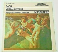 SEALED LP BACH MUNCHINGER STUTTGART MUSICAL OFFERING LONDON STS15063 MINT