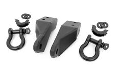 Rough Country Tow Hook Shackle Mount Kit (fits) 2007-2020 Toyota Tundra |D-RIngs