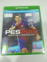 Pes 2018 Pro Evolution Soccer Premium Set Xbox One Ausgabe Spanien Neu - 2T