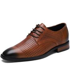 Zapatos para hombre de vestir formales de negocios Puntera Puntiaguda Oficina de Trabajo Con Cordones Boda Casual L