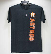 Houston Astros Mens Medium Logo T-shirt Genuine Authentic Navy Blue