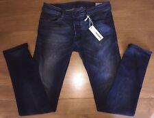 Diesel Sleenker Slim Skinny Fit Jeans Dark Blue W32 L32 Wash 0842Q