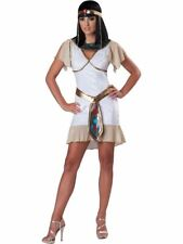 Egyptian Girl Jewel Costume Cleopatra Teen Fancy Dress 16-17 Years