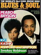 Peabo Bryson & Roberta Flack Blues & Soul Issue 391 1983    Kashif   Harry Casey