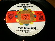 THE CHARADES - HEY OPERATOR - HE'S NOT YOUR BOY  / LISTEN - GIRL GROUP POPCORN