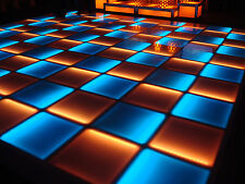 NEW! Complete 12' ft x 12' ft LED LIGHTED DANCE FLOOR Disco DJ Night Club Party