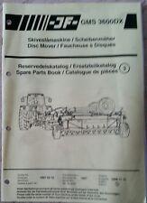 Catálogo De Piezas Cortadora de disco GMS3600DX jf