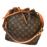Authentic LOUIS VUITTON Noe PM Shoulder Bag Monogram Leather BN M42226 86BP695