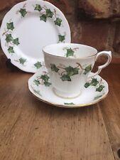 Vintage Colclough Ivy Leaf Trio Royal Albert Ltd