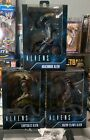 NECA Aliens Chrysalis/Arachnoid/Razor Claws Set of 3 New for 2021 🔥hard To Find