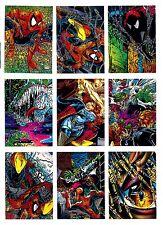 "1992 Comic Images, Spider-Man, ""The Todd McFarlane Era"" U-Pick 2 for $1.95 NM/M"