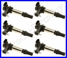 6 OEM Bosch Ignition Coil - With Spark Plug Connector NEW