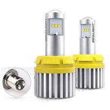 Canbus Error Free 1157 BAY15D 21/5W LED Bulbs Rear Tail Stop Brake Backup Light