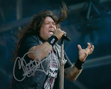 GFA Testament Singer * CHUCK BILLY * Signed Autographed 8x10 Photo PROOF C3 COA