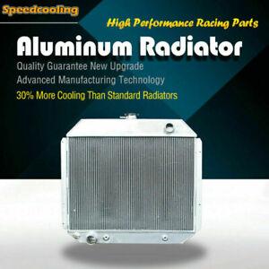 Aluminum Radiator For Ford Bronco F100 F150 F250 F350 F500 1970-1979 F-Series