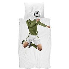 Snurk Soccer Champ Twin Duvet Cover and Pillowcase