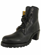 Frye Womens Sabrina 6G Lace Up Leather Ankle Boots, Black, US 6