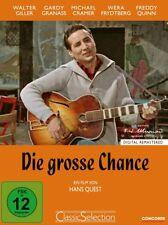DVD * DIE GROSSE CHANCE - WALTER GILLER - FREDDY QUINN  # NEU OVP $