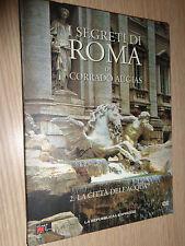 DVD N°2 I SEGRETI DI ROMA DI CORRADO AUGIAS LA CITTA´ DELL´ACQUA