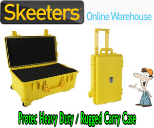 PROTEC RUGGED CARRY CASE 560x355x290mm - YELLOW