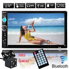 """7"""" HD 2Din Coche MP5 MP3 reproductor Bluetooth pantalla radio stereo + Camara"""