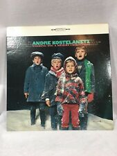 Andre Kostelanetz Wishing you a Merry Christmas 1960 carollers record vinyl