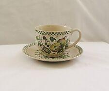 Vintage Johnson Bros. Old Granite ARBOR Cup & Saucer Set~Staffordshire, ENGLAND