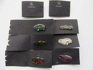 Mercedes Benz Pin CLK Coupe Cabrio SL A-Klasse Anstecker Pins