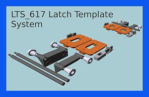 Passage latch & Cavity Door Latch Jig LTS_617