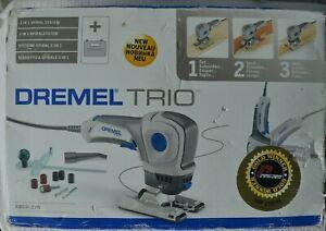 Dremel Trio Electric Tool cutting sanding routing tile wood plastic metal cutter