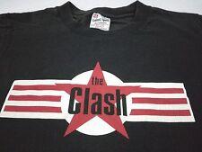 VINTAGE THE CLASH PUNK ROCK T SHIRT S Promo Logo RAMONES SEX PISTOLS BLONDIE