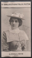 Portrait Ève Lavallière Eugénie Marie Pascaline Fénoglio CARD IMAGE 1907