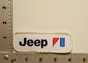 1970's / 1980's JEEP  VINTAGE EMBROIDERED  PATCH #2