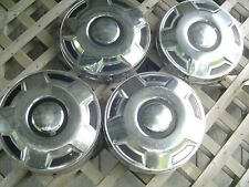 FORD 16 IN PICKUP TRUCK DOG DISH CENTER CAPS HUBCAPS WHEEL COVERS FOMOCO 3/4 TON