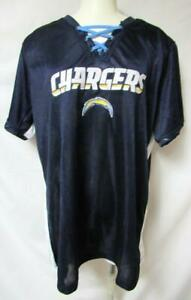 Los Angeles Chargers Womens Plus Size 1X Draft Me Jersey Shirt A1 2610