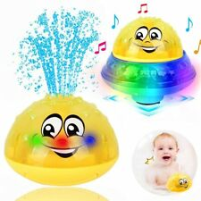 The Bathly Water Spray Toy Baby Bath Fun Light Induction Sprinkler Kid Gift baby