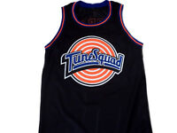 CUSTOM NAME & NUMBER TUNE SQUAD SPACE JAM BASKETBALL JERSEY NEW BLACK - ANY SIZE